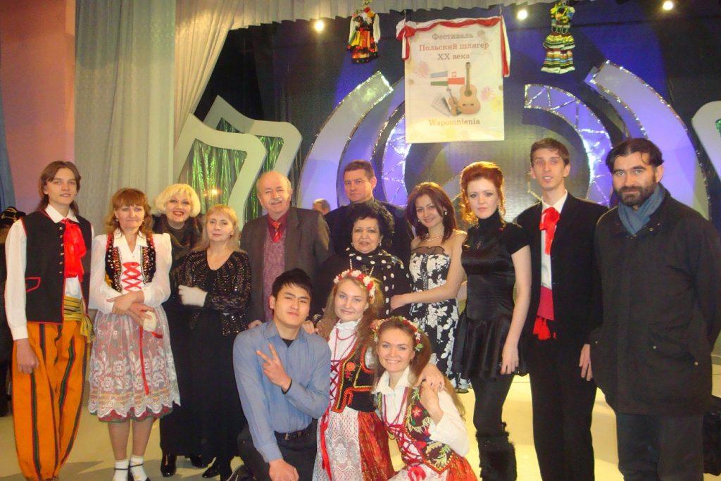 Лауреаты конкурса Польский шлягер XX века, ДК Металлург г. Ангрена.