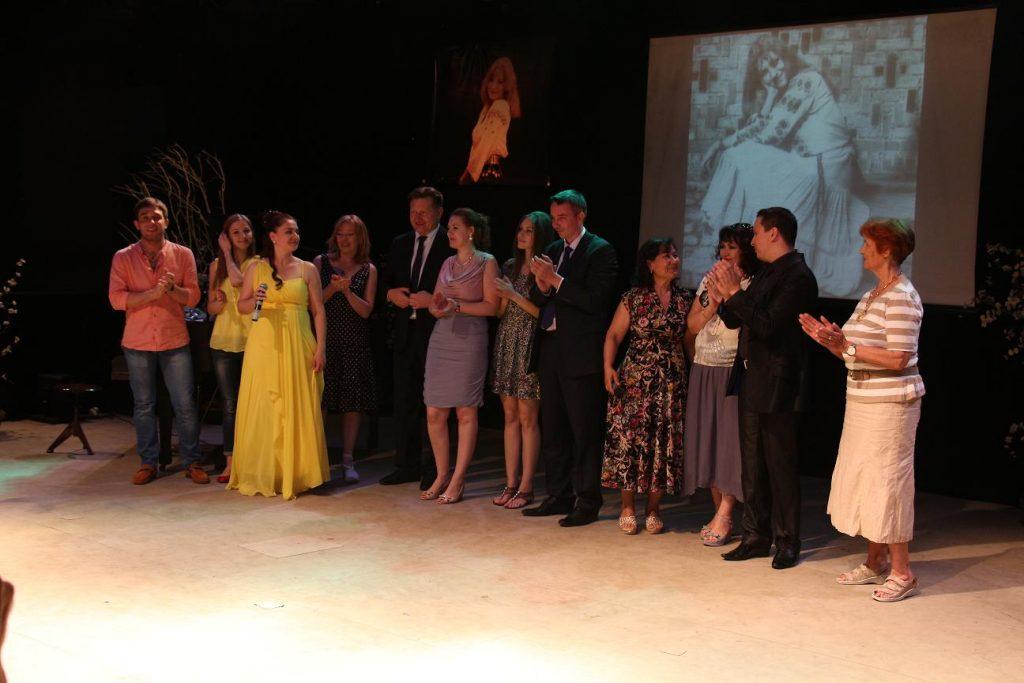Вечер памяти Анны Герман в театре «Ильхом».
