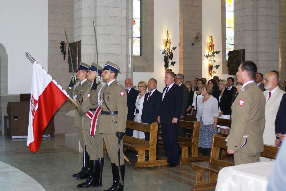 Визит польской делегации на 70-летие Армии Андерса.