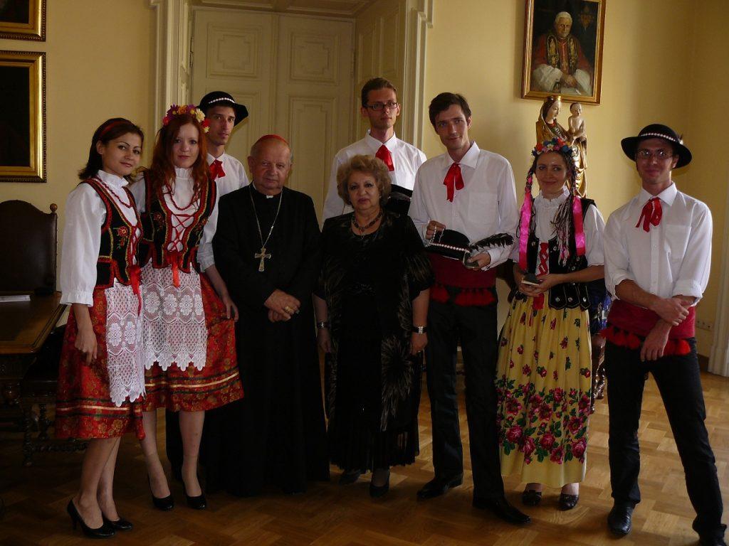 Молодёжь Полонии в гостях у краковского епископа.