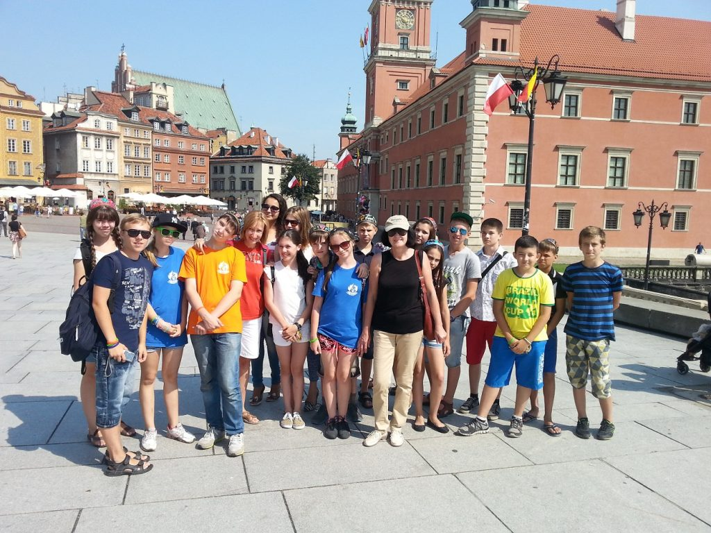 Lato z Polska, на Старувке.