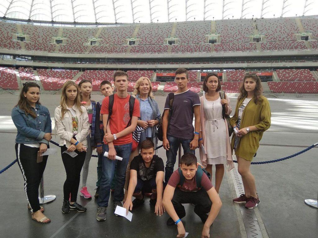 Lato z Polska, на Варшавском стадионе.