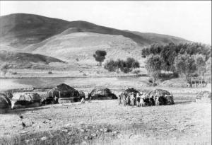 Юрты в окрестностях Самарканда